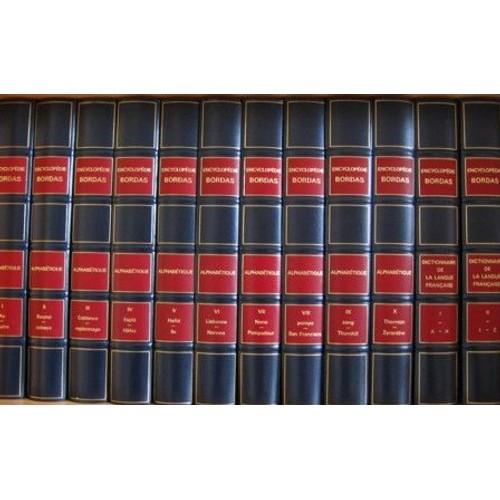 encyclopedie bordas 12 volumes