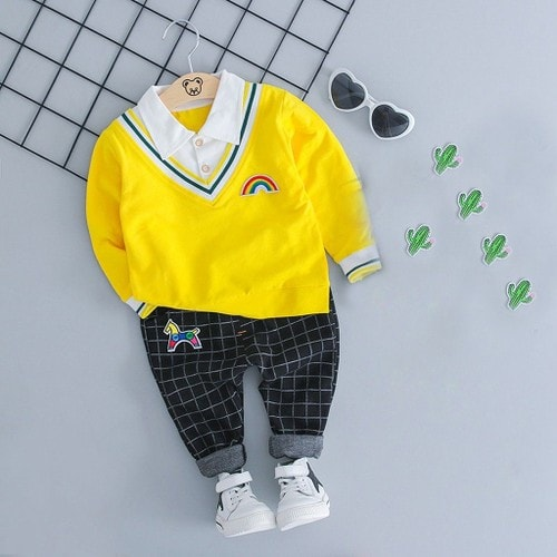 a0eb80110ae36 enfant pantalon bebe garcon jaune pas cher ou d'occasion sur Rakuten