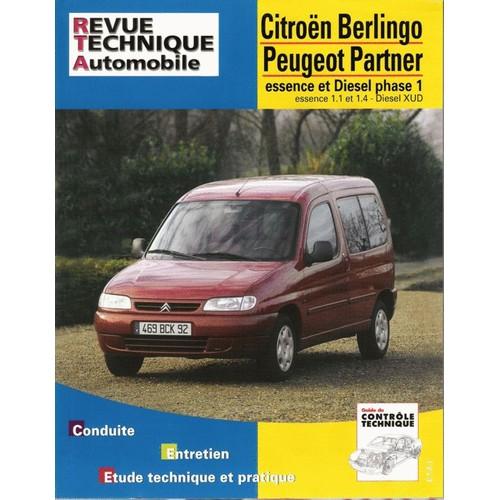citro n berlingo peugeot partner moteurs essence 1 1 1 4 et diesel. Black Bedroom Furniture Sets. Home Design Ideas