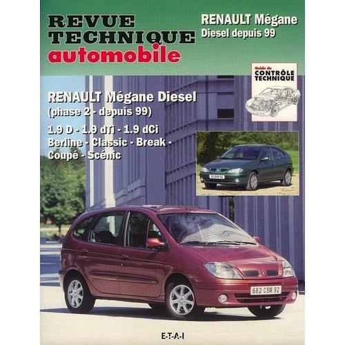 renault m gane diesel phase 2 depuis 99 de revue technique automobile. Black Bedroom Furniture Sets. Home Design Ideas