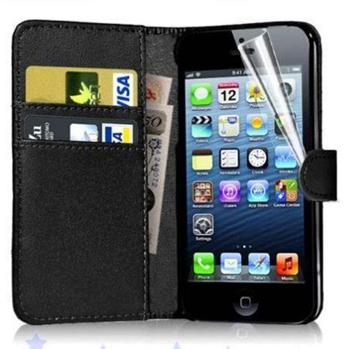 Etui cuir iphone 5 achat et vente neuf d 39 occasion sur for Etui housse iphone 5