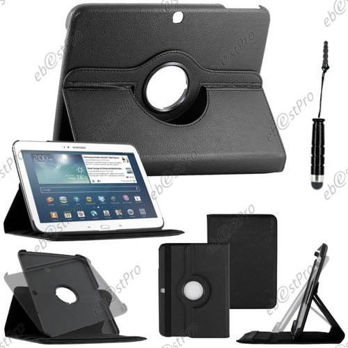 etui rotatif pour tablette samsung 10 pouces pas cher ou d 39 occasion sur priceminister rakuten. Black Bedroom Furniture Sets. Home Design Ideas