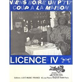 Licence iv viens boire un p 39 tit coup la maison achat - Chanson viens boire un petit coup a la maison ...