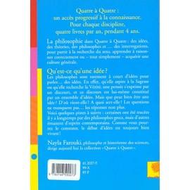 Qu Est Ce Qu Une Idee De Nayla Farouki Format Beau Livre