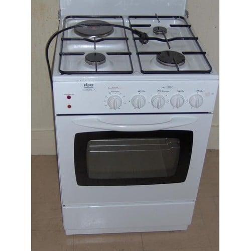 Faure cml 519 w cuisini re blanche achat et vente priceminister rakuten - Gaziniere gaz de ville ...