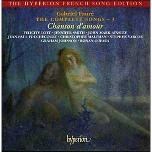Integrale Des Melodies Vol 3 Chanson D Amour Puisque J Ai Mis