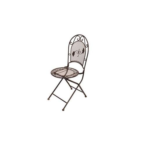 fauteuil chaise jardin fer marron pas cher ou d\'occasion sur Rakuten