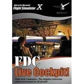Fdc Live Cockpit - Add-On Pour Microsoft Flight Simulator X Et 2004