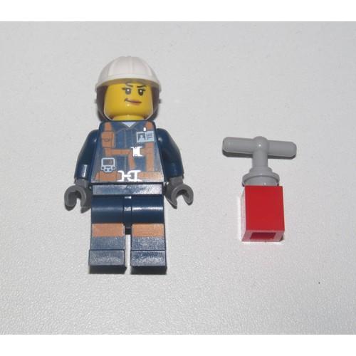 Femme Pilote NEW Lego ® Lot x2 Minifig Figurine City Explorateur