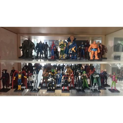 Figurine plomb super héros Marvel Eaglemoss 90 WARLOCK