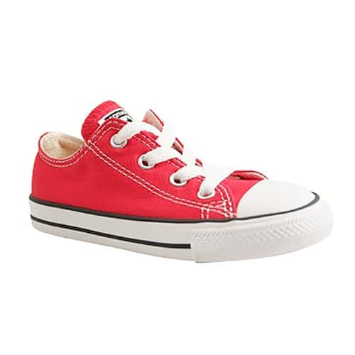 converse fille rouge