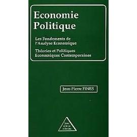 Economie Politique de Fines, Jean Pierre