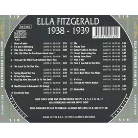Classics 1938-1939 - Fitzgerald, Ella