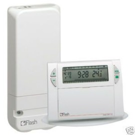 Flash 56460 thermostat d 39 ambiance sans fil programmable - Thermostat d ambiance sans fil ...