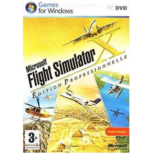 Microsoft Flight Simulator is a flight simulator program for Microsoft Windows, marketed and often seen as a video game. One of the longest-running, best-known and most comprehensive home flight simulator series...