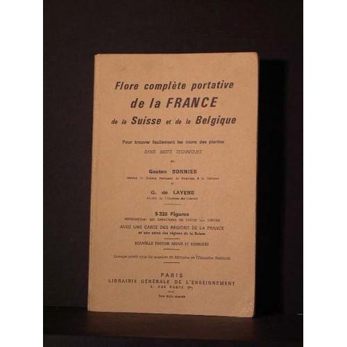 Flore Compl 232 Te Portative De La Suisse Et De La Belgique border=