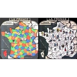 France D�partements Puzzle, R�gions De France Puzzle - Jeu �ducatif �cole Primaire, Cr�ation Mob