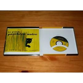 La Grande Panthère Noire la grande panthère noire - coffret livre + cd audio de paul françois