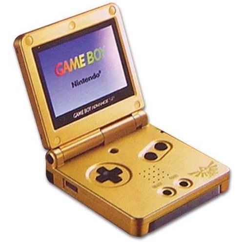 Game Boy Advance Sp : Nintendo game boy advance sp zelda edition console de