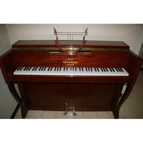gaveau piano droit cadre m tallique touches ivoire. Black Bedroom Furniture Sets. Home Design Ideas