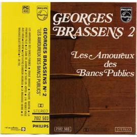 Georges Brassens 2 Les Amoureux Des Bancs Publics Cassette Audio