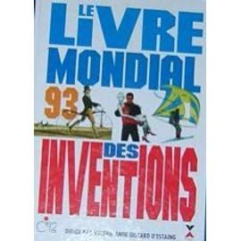 Le Livre Mondial Des Inventions 1993 de giscard d'estaing, val�rie-anne