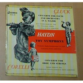 Concerto For Flute And Orchestra In G Major / Toy Symphonie / Concerto For Oboe And Strings - Gluck - Haydn -Corelli