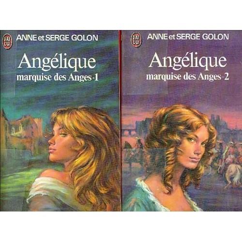 angelique marquise des anges t1 et t2 de golon format livre