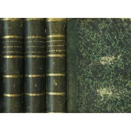 Grande Encyclopedie Illustree D'economie Domestique Et Rurale, 3 Tomes de Trousset M. Jules Et Alii