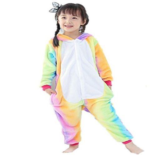 af681fc23b405 Kigurumi Pyjama Enfant Déguisement Licorne Combinaison Grenouillère Cosplay  Costume Cadeau Pour Fête Anniversaire