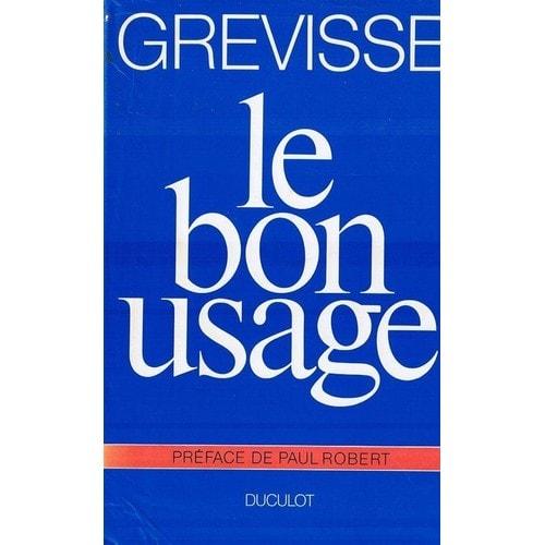 GREVISSE LE BON USAGE PDF DOWNLOAD
