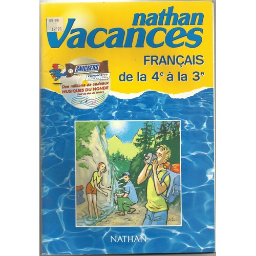 Cdv 98 Francais 4 3eme