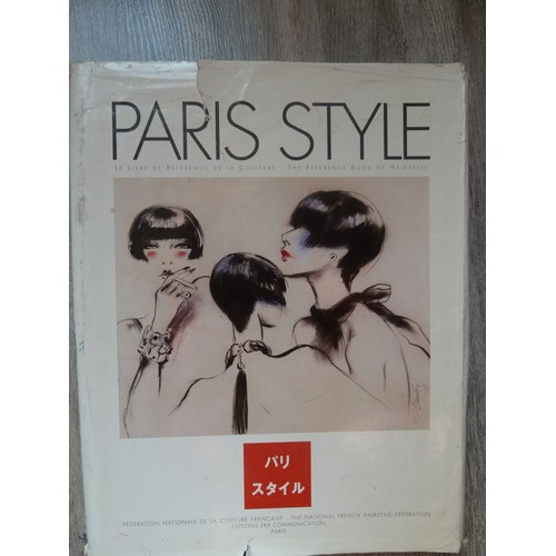 paris style le livre de reference de la coiffure the reference book of hair style de. Black Bedroom Furniture Sets. Home Design Ideas