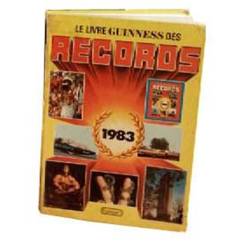 le livre guinness des records 1983 de arthur guinness. Black Bedroom Furniture Sets. Home Design Ideas