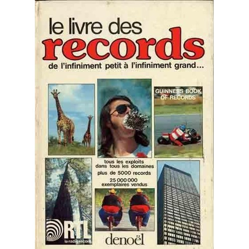 le livre des records 1975 de guinness achat vente neuf occasion. Black Bedroom Furniture Sets. Home Design Ideas