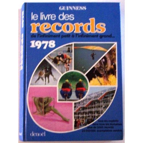 le livre guinness des records 1978 de guinness rakuten. Black Bedroom Furniture Sets. Home Design Ideas