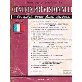 Principes Et Pratique De Gestion Pr�visionnelle de jean-claude guiriec