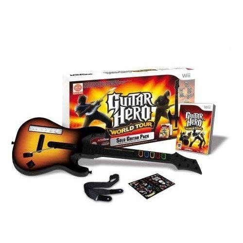 Guitar hero world tour pack jeu guitare achat et vente - Mondial relay tours ...