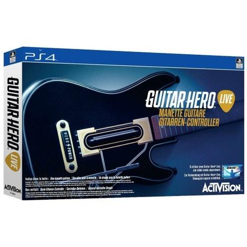 guitare hero live ps4 pas cher ou d 39 occasion sur. Black Bedroom Furniture Sets. Home Design Ideas