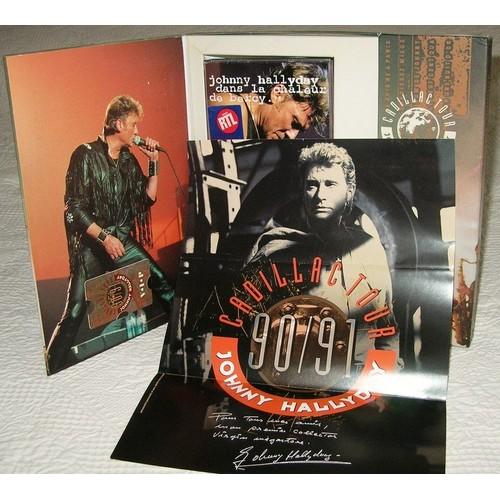 cadillac tour coffret collector numerot johnny hallyday cd album. Black Bedroom Furniture Sets. Home Design Ideas