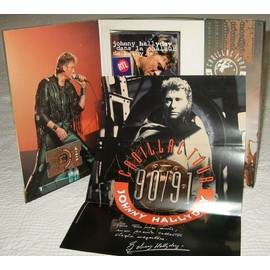 cadillac tour coffret collector numerot johnny hallyday cd album. Black Bedroom Furniture Sets. Home Design Ideas