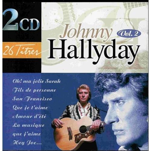 2 cd collection hallyday story 67 73 johnny hallyday cd album. Black Bedroom Furniture Sets. Home Design Ideas