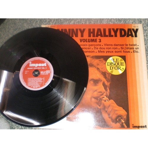 disque d 39 or volume 3 johnny hallyday 33 tours rakuten. Black Bedroom Furniture Sets. Home Design Ideas