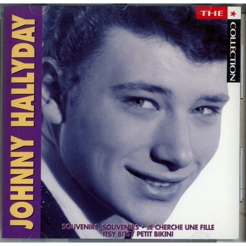 the collection johnny hallyday cd album priceminister. Black Bedroom Furniture Sets. Home Design Ideas