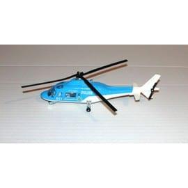 H�licopt�re De Police Bleu Majorette