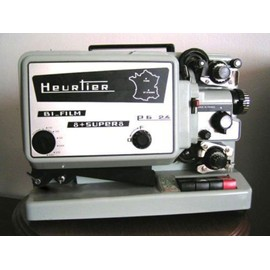 heurtier 240 projecteur film 8mm et super 8 pas cher priceminister. Black Bedroom Furniture Sets. Home Design Ideas