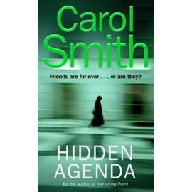 Hidden Agenda de Carol Smith