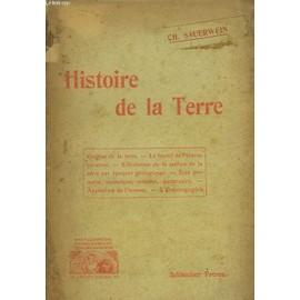 Histoire De La Terre de Sauerwein Ch.