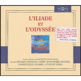 L'Iliade et l'Odyssée avec 10 CD audio - Homère