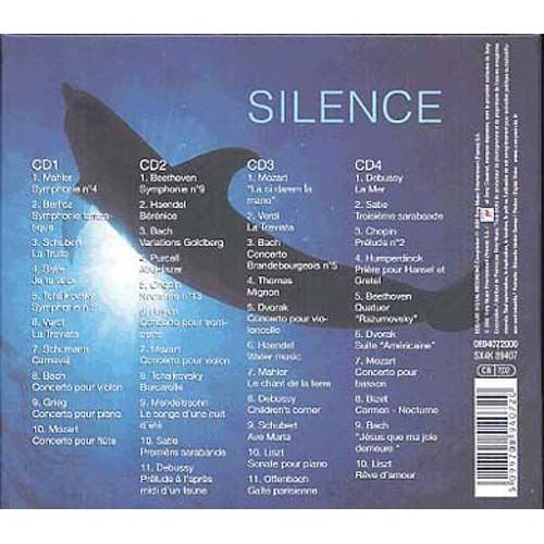 silence 1 4 illustrations sonores cd album. Black Bedroom Furniture Sets. Home Design Ideas